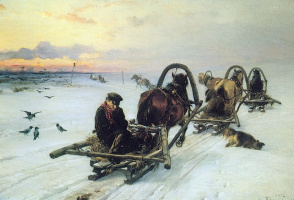 Илларион Михайлович Прянишников. Порожняки