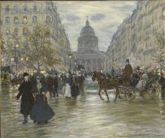 Жан-Франсуа Рафаэлли. Бульвар Сен-Мишель