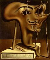 Сальвадор Дали 1904 - 1989 Испания. Мягкий автопортрет с жареной ветчиной. 1941
