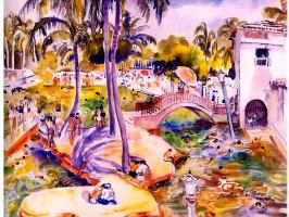 Марта Уолтер. Венецианский бассейн