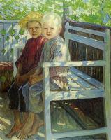 Николай Петрович Богданов-Бельский. Дети