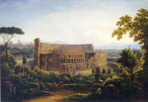 Fedor Mikhailovich Matveyev. View Of Rome. Colosseum