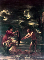 Сальваторе Роза. Одиссей и Навзикая