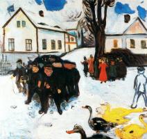 Edvard Munch. Rural street