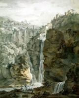 Шарль-Луи Клериссо. Водопад в Тиволи