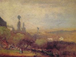 George Innes. Monte Lucia Perugia