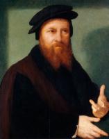 Йос ван Клеве. Автопортрет. 1530-1535
