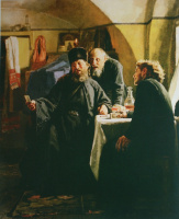 Nikolai Vasilyevich Nevrev. Monks 1880