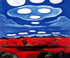 Марсден Хартли. Голубые облака
