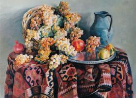 Ashot Alikovich Muradyan. Still life with grapes