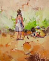 Савелий Камский. Дети на морском берегу. N9