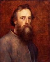 George Frederick Watts. Автопортрет