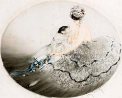 Икар Луи Франция 1888 - 1950. Карнавал. 1920