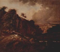 Фердинанд Кобелль. Пейзаж