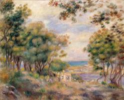 Pierre-Auguste Renoir. Landscape at Beaulieu