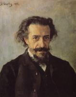 Валентин Александрович Серов. Портрет композитора П.И. Бларамберга
