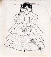 Обри Бердслей. Пятнистое платье