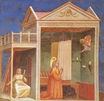 Джотто ди Бондоне. Благовещение Святой Анны