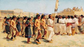 Джозеф Генри Шарп. Танец урожая