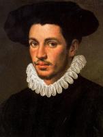 Аннибале Карраччи. Портрет мужчины в шляпе