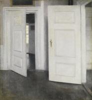 Вильгельм Хаммерсхёй. Белые двери. Страндгед, 30