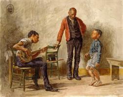Томас Икинс. Танец негритянского мальчика