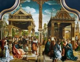 Бернард ван Орлей. Алтарь святых Фомы и Матвея