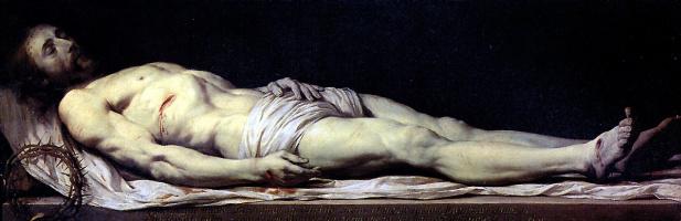 Philippe de Champigny. Dead Christ