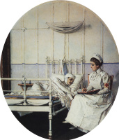 "Vasily Vasilyevich Vereshchagin. A letter home. Series ""Letter to mother"""