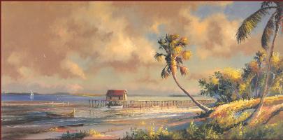 Гарольд Ньютон. Тропический пейзаж 51