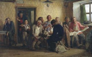 Виктор Михайлович Васнецов. Чаепитие в трактире (В харчевне)