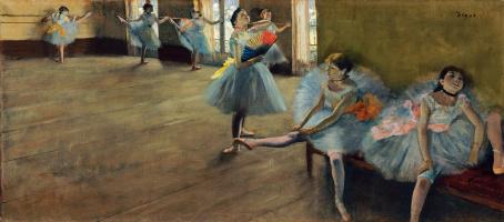 Эдгар Дега. Балерины в танцевальном классе
