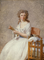 Жак-Луи Давид. Портрет мадам Аделаиды Пасторе и ее сына