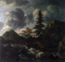 Якоб Исаакс ван Рейсдал. Путь в горный пейзаж
