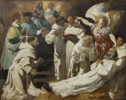 Франсиско де Сурбаран. Успение святого Петра Ноласко