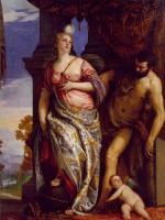 Паоло Веронезе. Аллегория мудрости и силы (Выбор Геркулеса или Геркулес и Омфала)