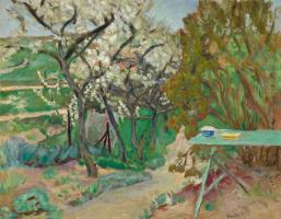 Pierre Bonnard. Green table