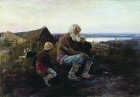 Алексей Степанович Степанов. Вечерняя заря