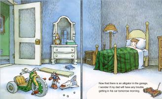Мерсер Мейер. Иллюстрация к книге Там крокодил под моей кроватью 22