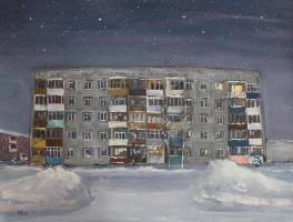 Денис Григорьевич Русаков. Ночь