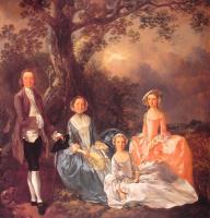 Томас Гейнсборо. Портрет семьи Гравенор