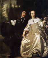 Бартоломеус ван дер Гельст. Абрахам дель Курт и Мария де Каарсгитер
