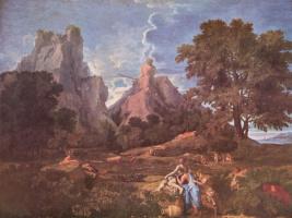 Никола Пуссен. Пейзаж с Полифемом