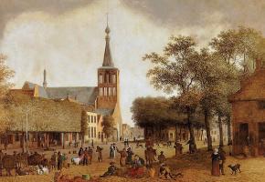 Йозефус Книп. Рынок в Хелмонд