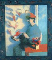 Билл Жаклин. Мужчина с цветами