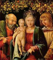 Альбрехт Альтдорфер. Святое семейство с ангелом