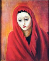 Моисей Кислинг. Женщина в красном