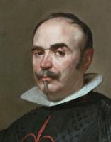 Диего Веласкес. Портрет Педро де Барберана-и-Апаррегуи (фрагмент)