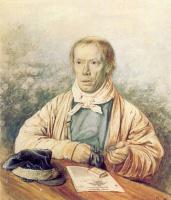 Павел Андреевич Федотов. Портрет А. И. Федотова, отца художника