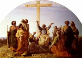 Шарль Глейр. Выезд апостолов для проповедования Евангелия